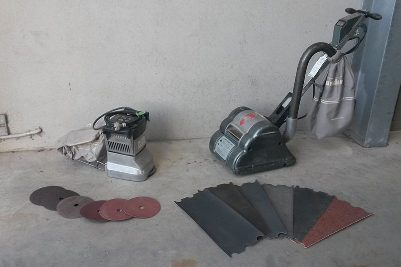 Floor Sander and Edger Package