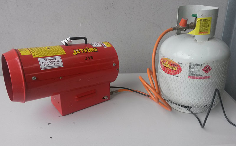 Heater – Industrial Gas Blower (Jetfire J15)