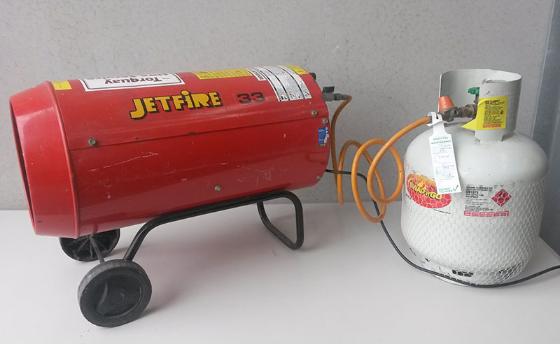 Heater – Industrial Gas Blower (Jetfire J33)