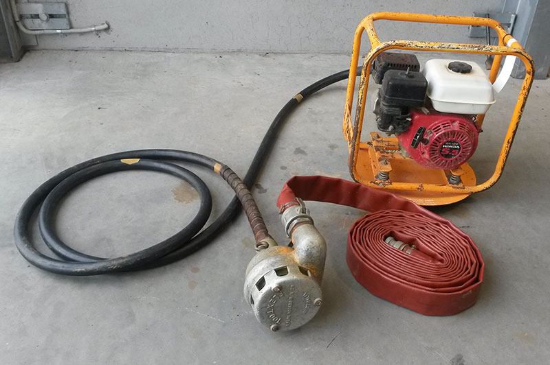 Flex Tool Drive Unit c/w Sludge Pump