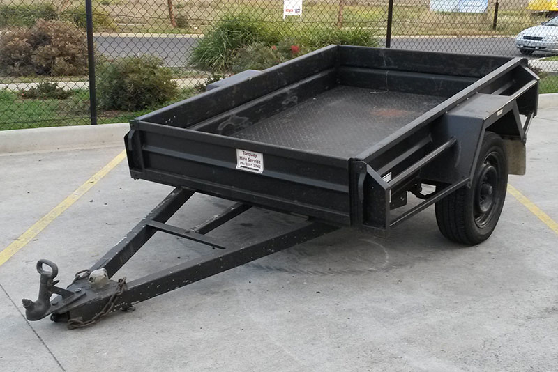 Trailer – 6x4 Single Axle