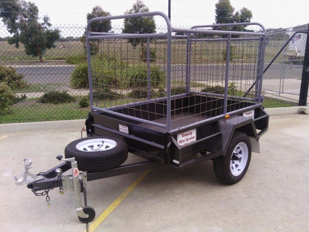 Trailer – 6x4 Single Axle Cage